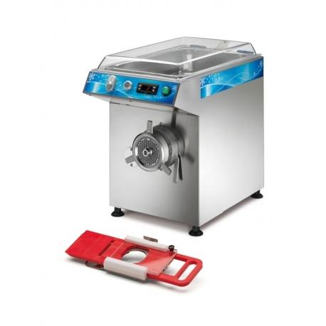 Orved Picadora de Carne Refrigerada Trifásica + Hamburguesera R-32-B