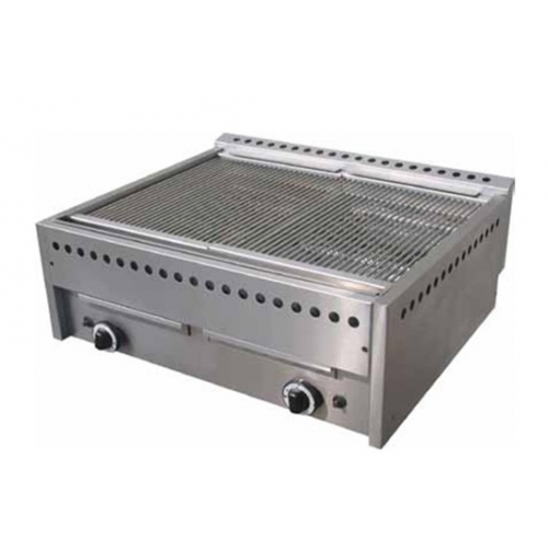 BARBACOA A GAS PIEDRA LAVICA 18kW 780x680x320mm